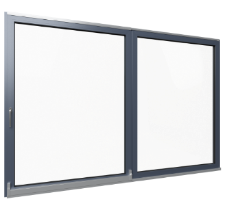Tilt-and-slide balcony door